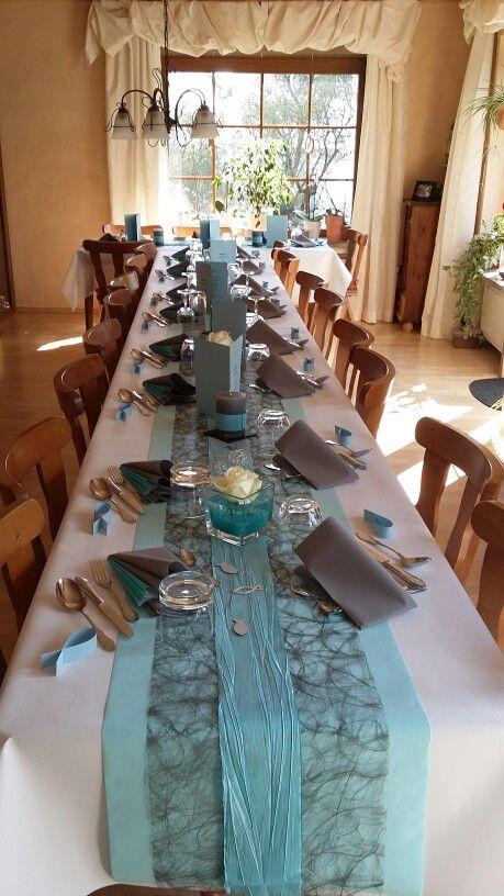 Meine Tischdeko zur Konfirmation  Deko  Tischdeko kommunion Kommunion und Kommunion deko