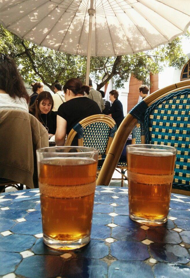 Salon de th de la grande mosqu e de paris en paris le de france france pinterest - Mosquee de paris salon de the horaires ...