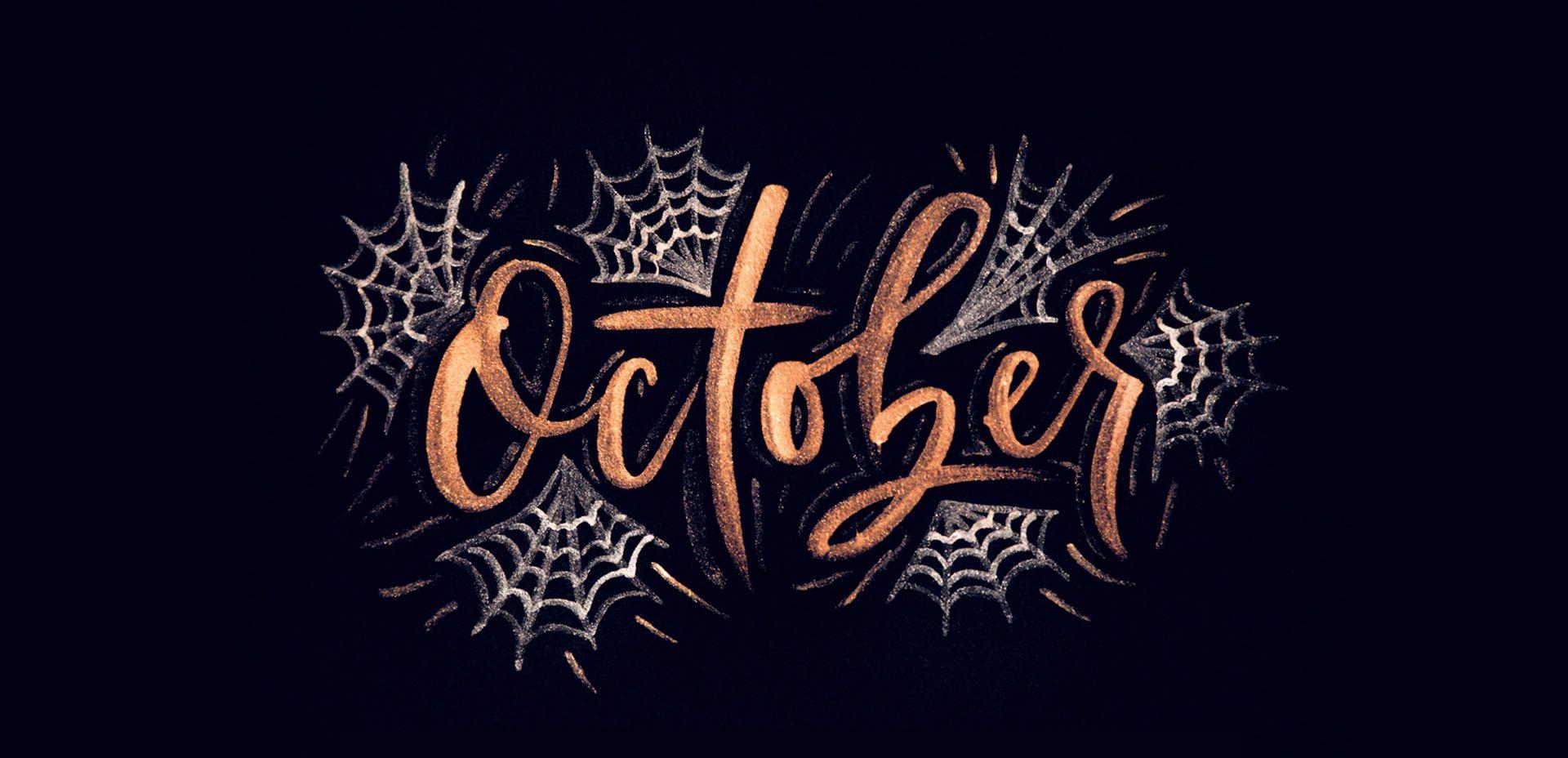 Aesthetic Halloween Wallpaper For Laptop