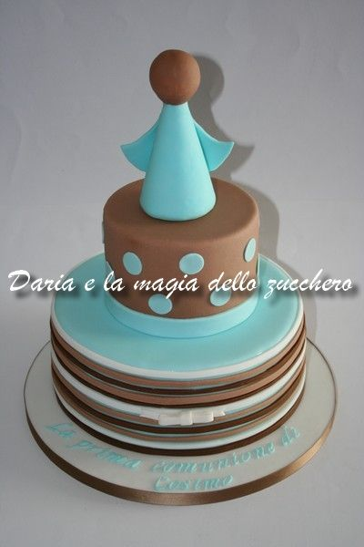 Torta prima comunione bimbo First communion boy cake