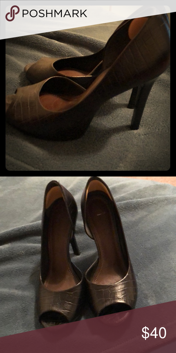 5244ae3276 Gianni Bini Heels Black Gianni Bini Stiletto size 8M. Very confortable only  used two time they are like new . Gianni Bini Shoes Heels