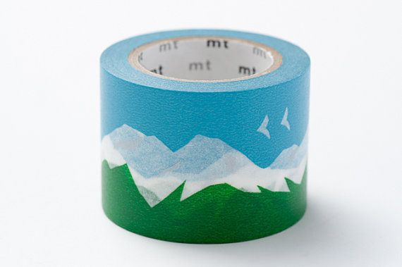 Snowy Mountain by Mount Washi Masking Tape