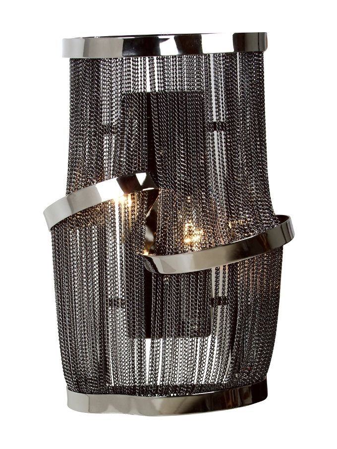 Mullholland Drive Wall Sconce from Standout Lighting on ... on Decorative Wall Sconces Candle Holders Chrome Nickel id=32110