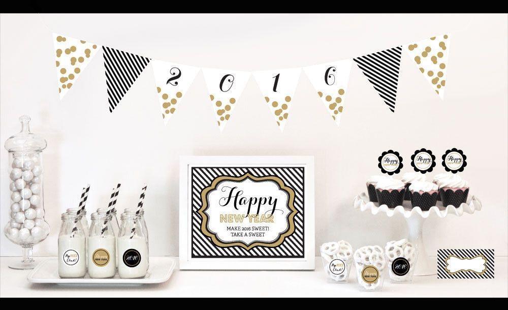 New Years Eve Party Decorations Starter Kit Ella Gent Stylish