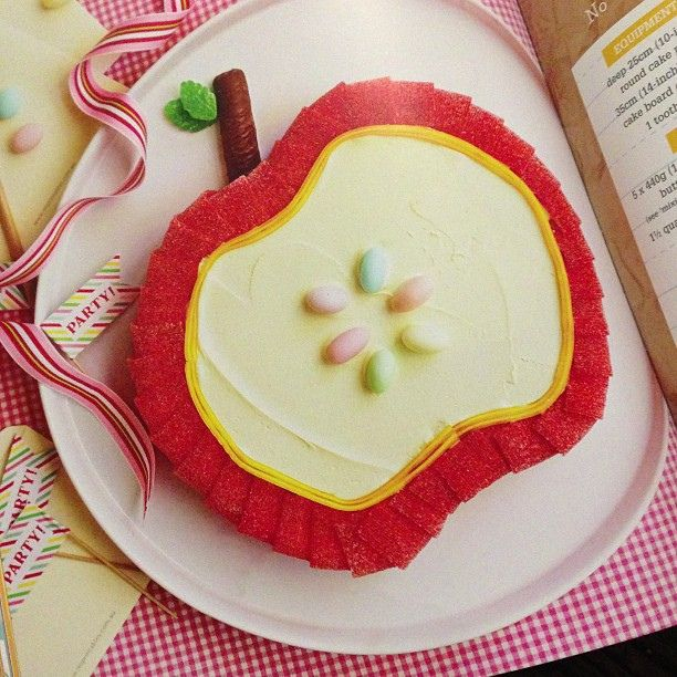 Apple Birthday Cake From Australian Womens Weekly Bumper Book Of