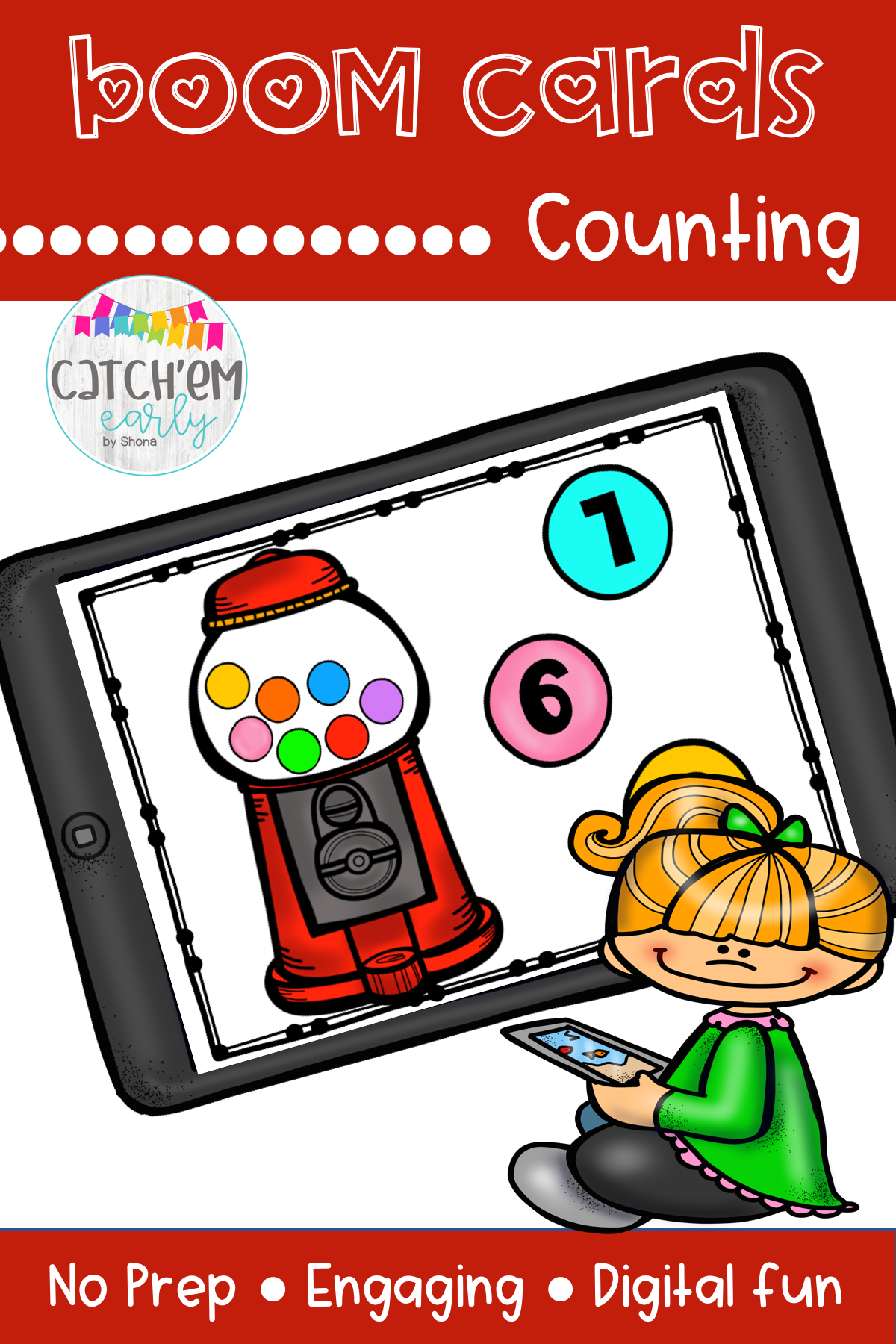Counting With Boom Cards In