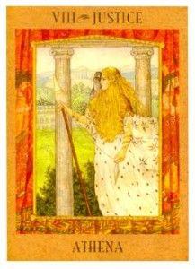 Goddess Tarot Deck--Justice | Tarot cards art. Tarot. Tarot decks