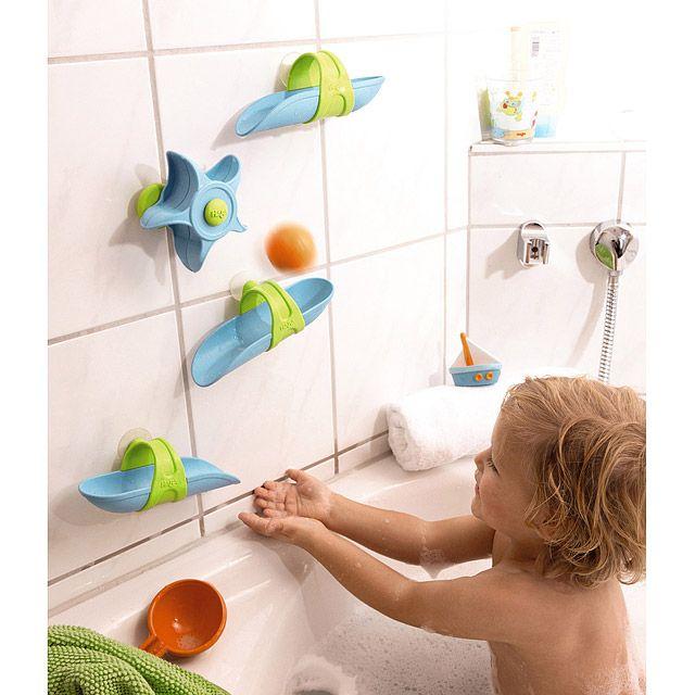 Bathtub Ball Track Playset | Water games, Bath toys and Bathtubs