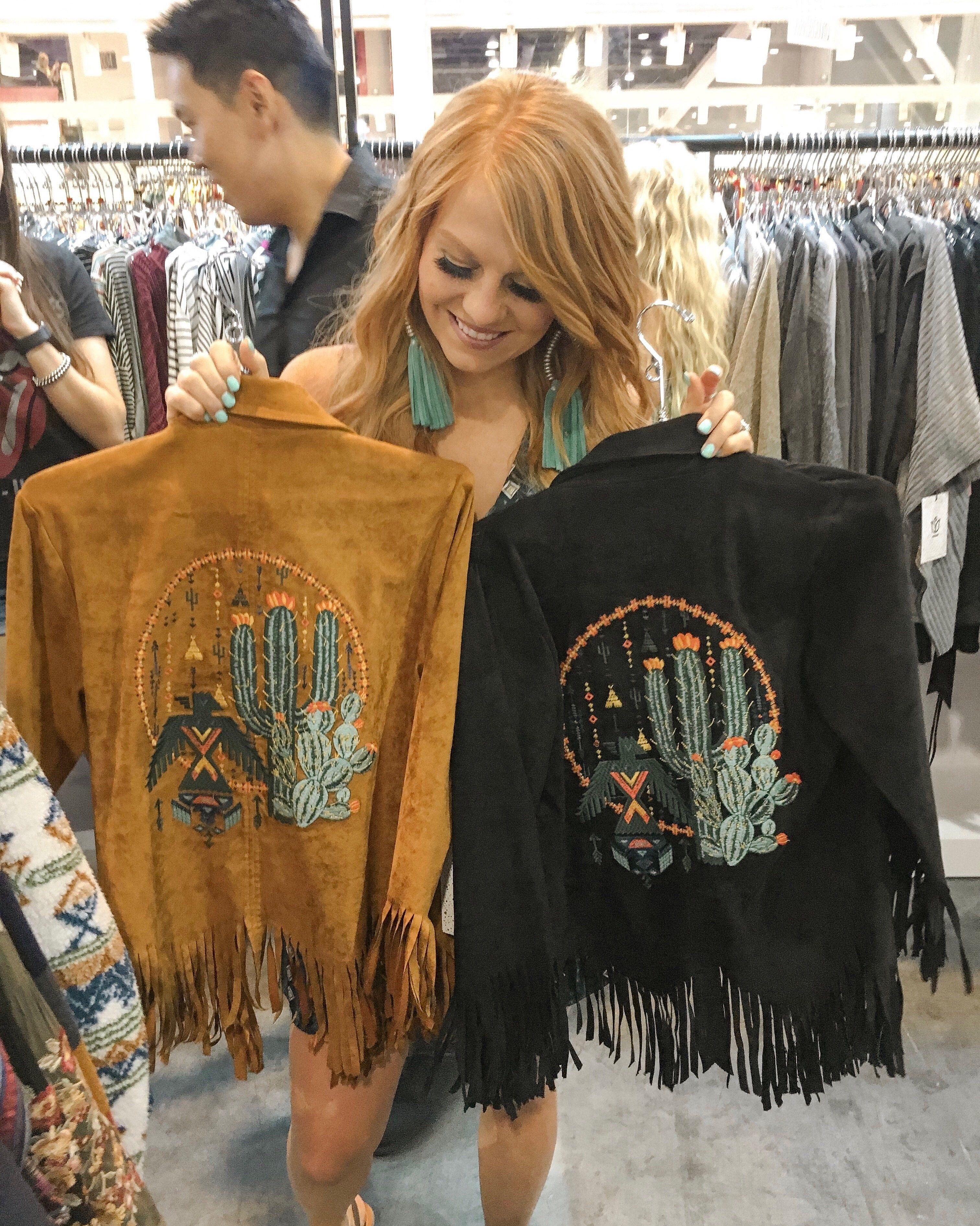 Cactus Fringe Jacket