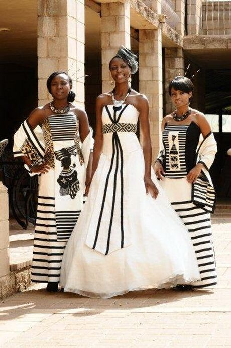 Traditional African Wedding Dresses Shifting Sands West Rand