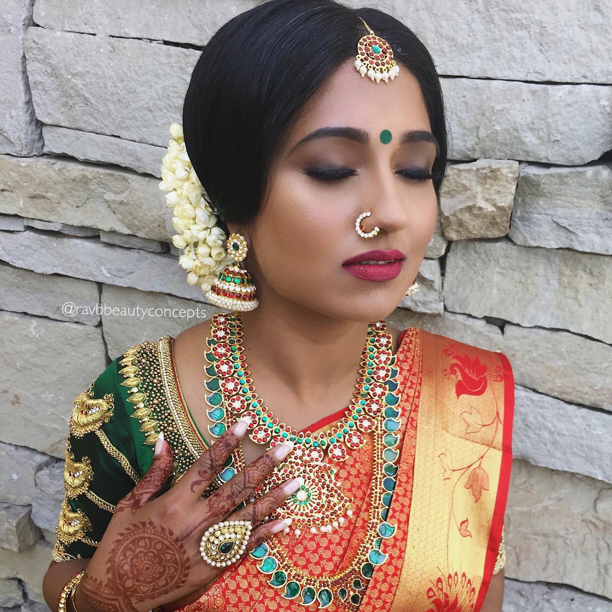 indian bridal makeup, indian bridal hair, bridal makeup ...