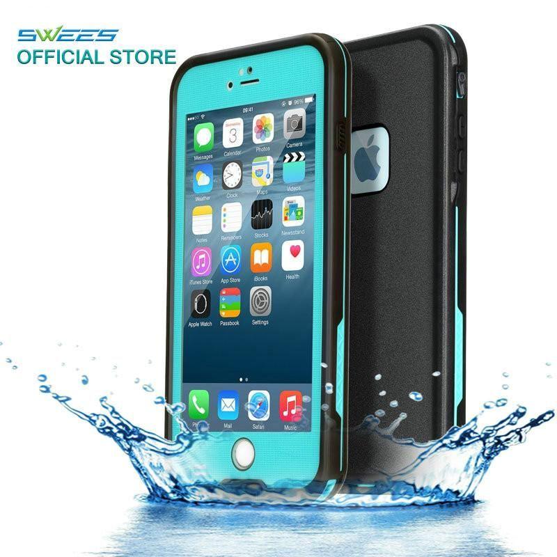 100 Sealed Waterproof Case For iPhone 6 6s Plus Slim