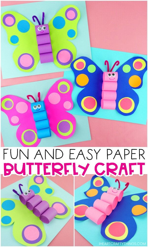 Beautiful Butterfly Craft