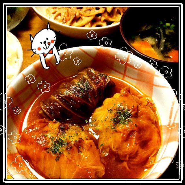私の1番の得意料理です^^ - 5件のもぐもぐ - ロールキャベツ by Ychan