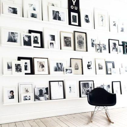 18 Manières de Décorer un Mur Blanc | Murs blancs, Grand mur blanc ...