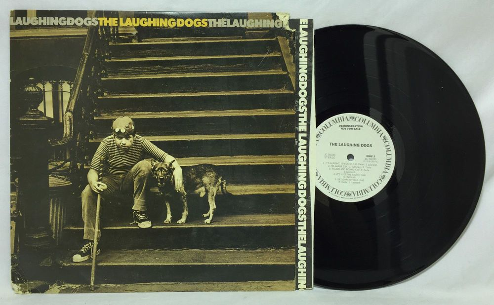 The Laughing Dogs Self Titled S/T Vinyl Record Album LP Columbia JC 36033 PROMO #FreeShipping #Record