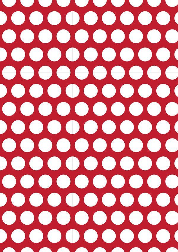 red polka dot paper template - Google Search Arabella\u0027s 2nd