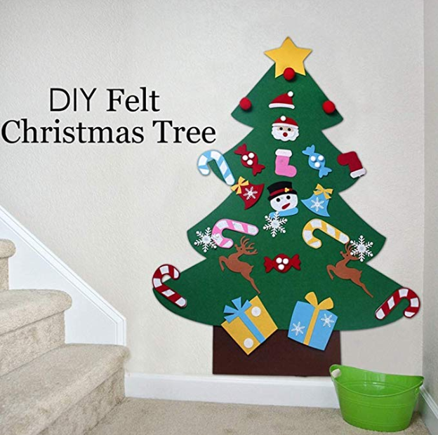 Must Have Toys For A 2 5 Year Old In 2020 Diy Kids Christmas Tree Diy Felt Christmas Tree Diy Felt Christmas Ornaments
