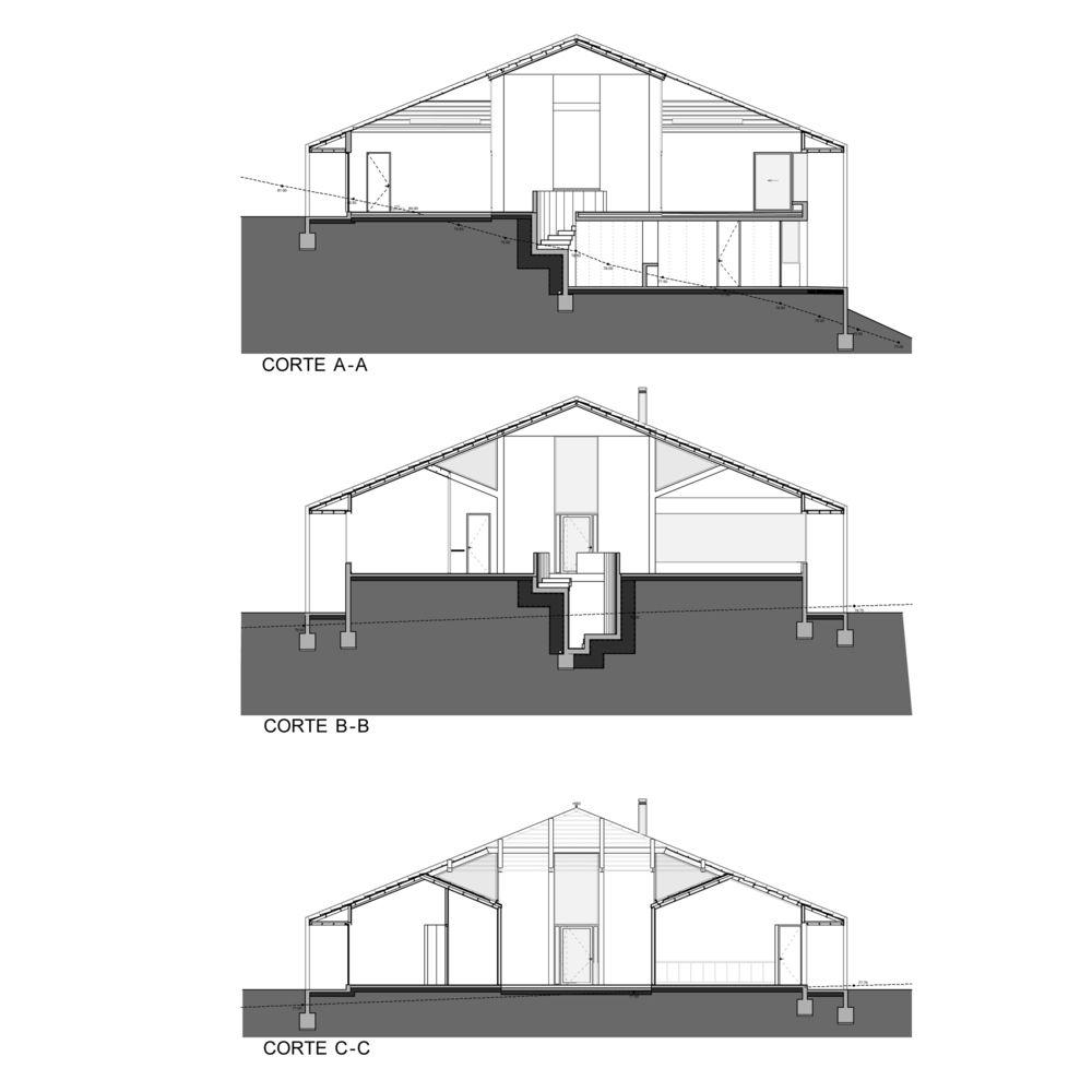 Galería de Casa en Futrono / Cristián Izquierdo Lehmann - 17