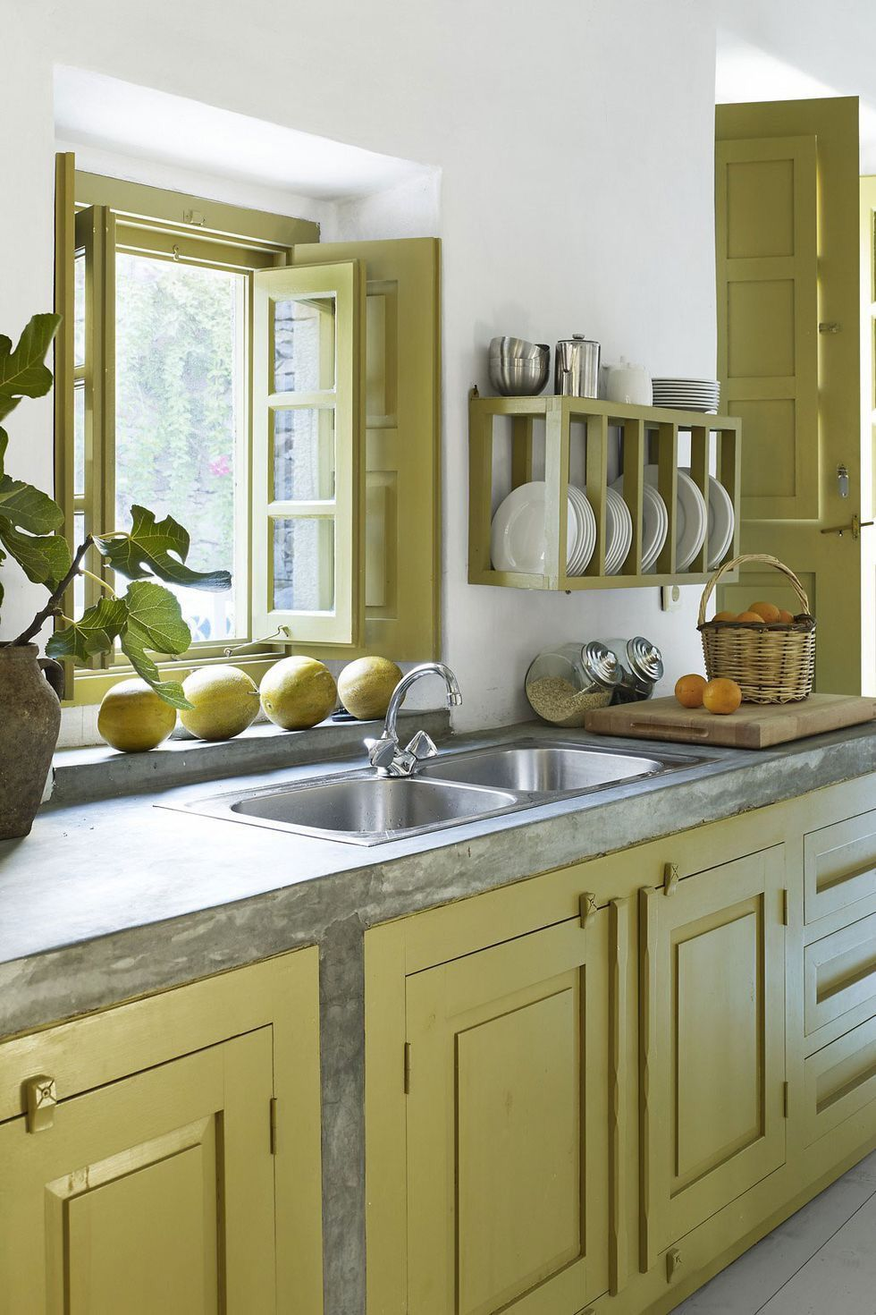 Beautiful Green image by Sharon Horton Small kitchen