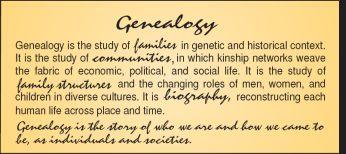 Ancestry, Genealogy