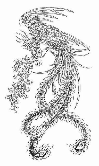 Pin de piitusun en Mandalas | Pinterest | Tattoo ave fenix, Mandalas ...