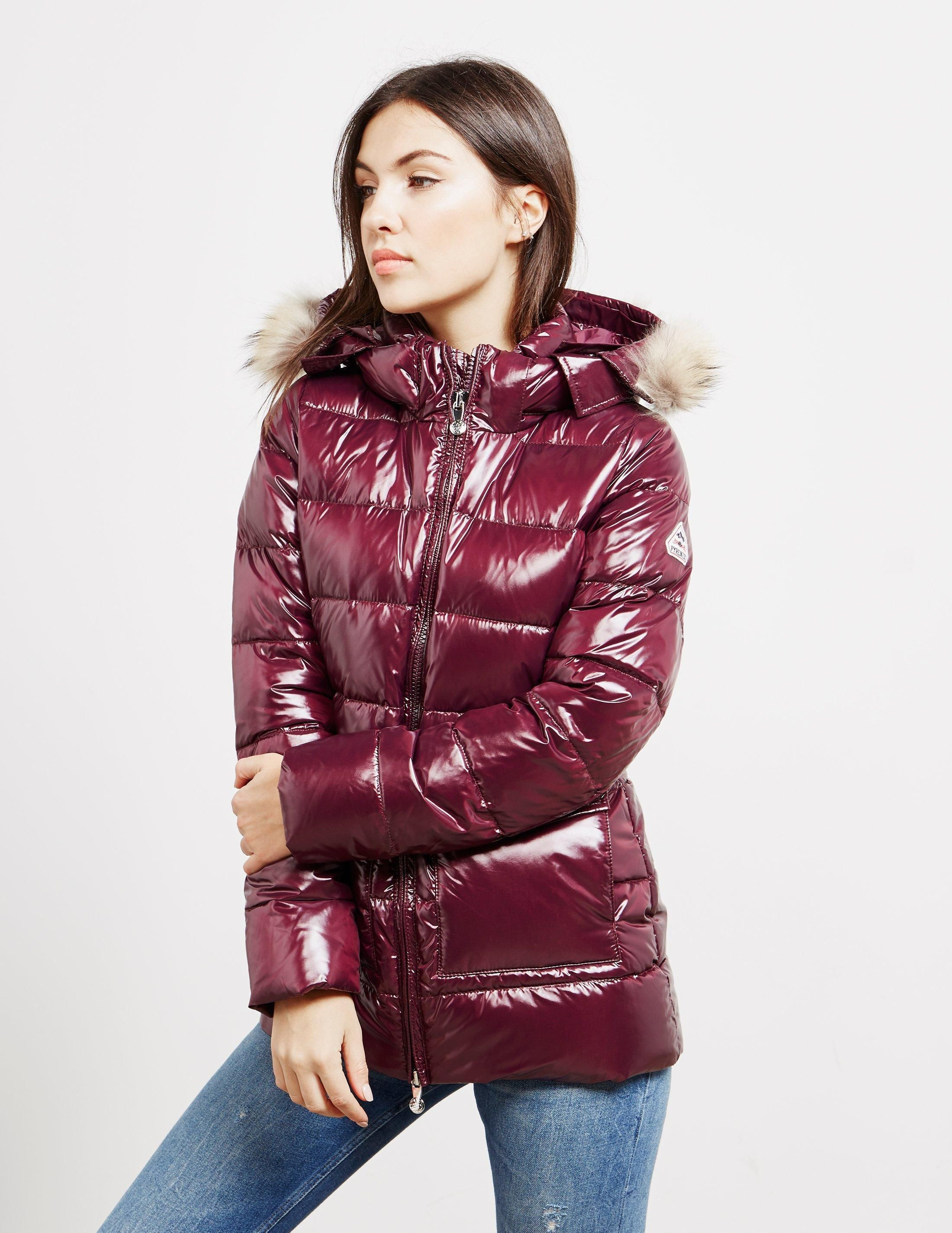 89555b3ded5 Lyst - Pyrenex Womens Authentic Shiny Jacket Red in Red | || Winter ...
