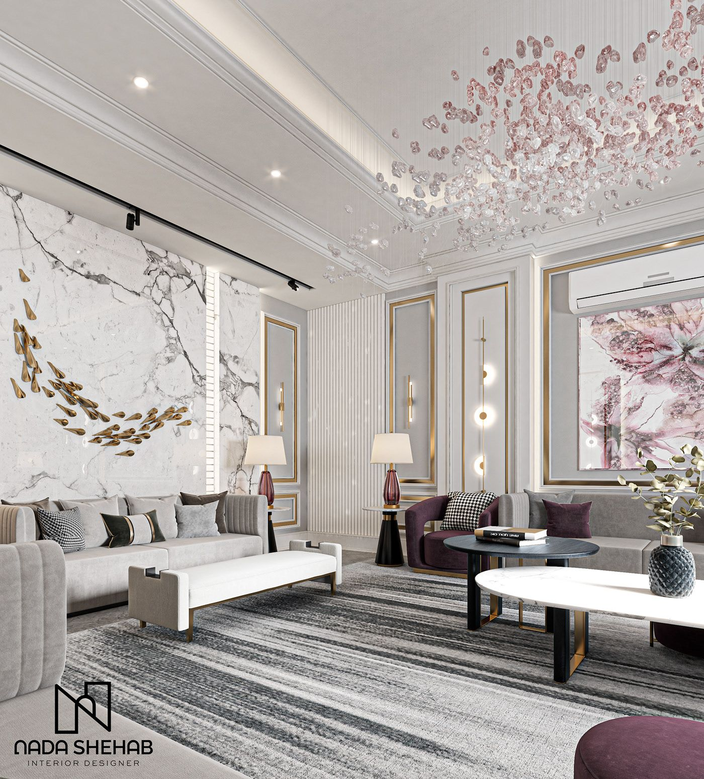Neo Classical On Behance In 2021 Interior Design Home Interior Design House Interior