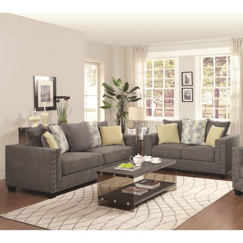 Etonnant Enhance The Luxurious Comfort Of Your Living Space With The Calvin Button  2 Piece Living
