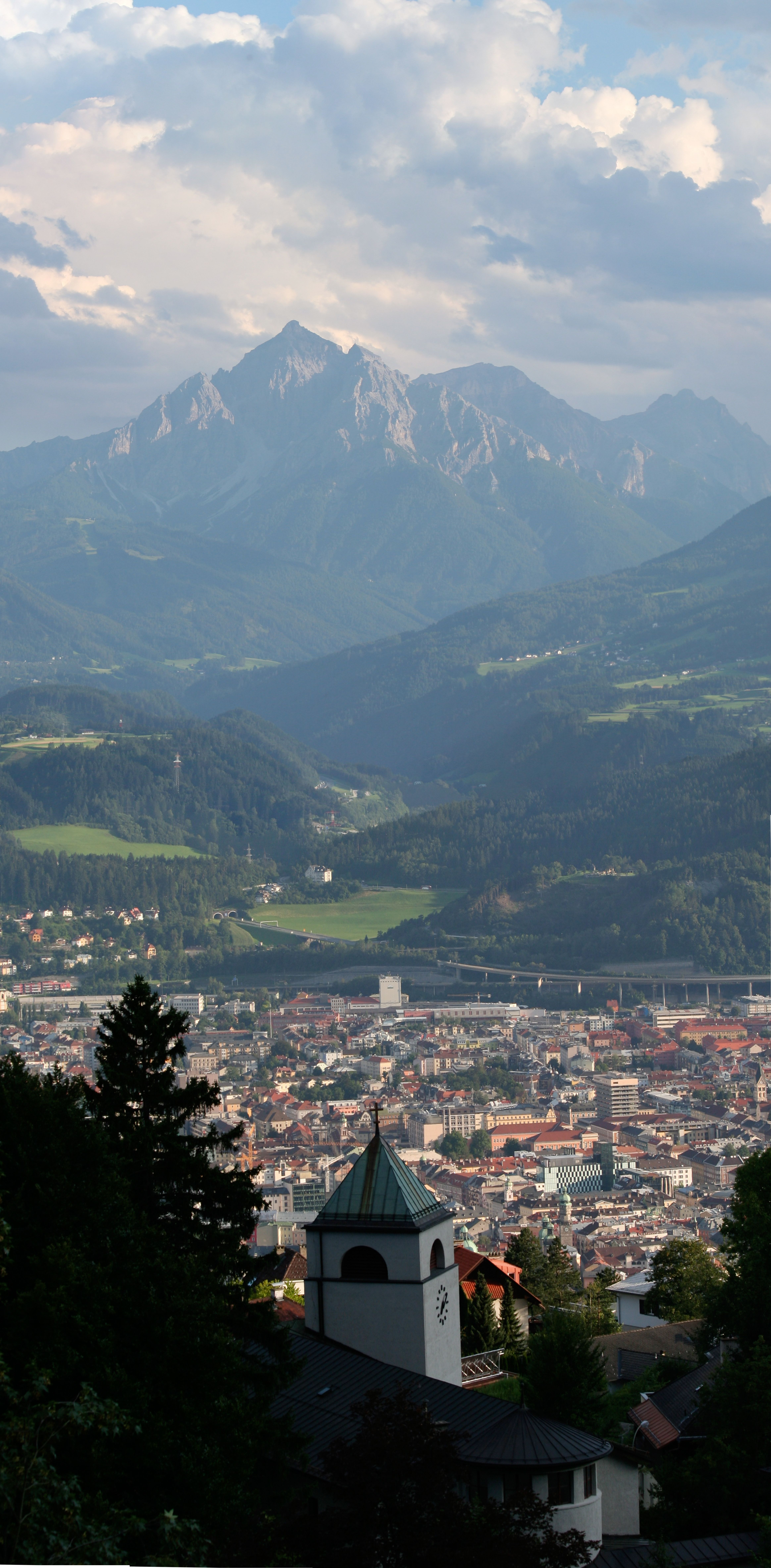 Overlooking Innsbruck