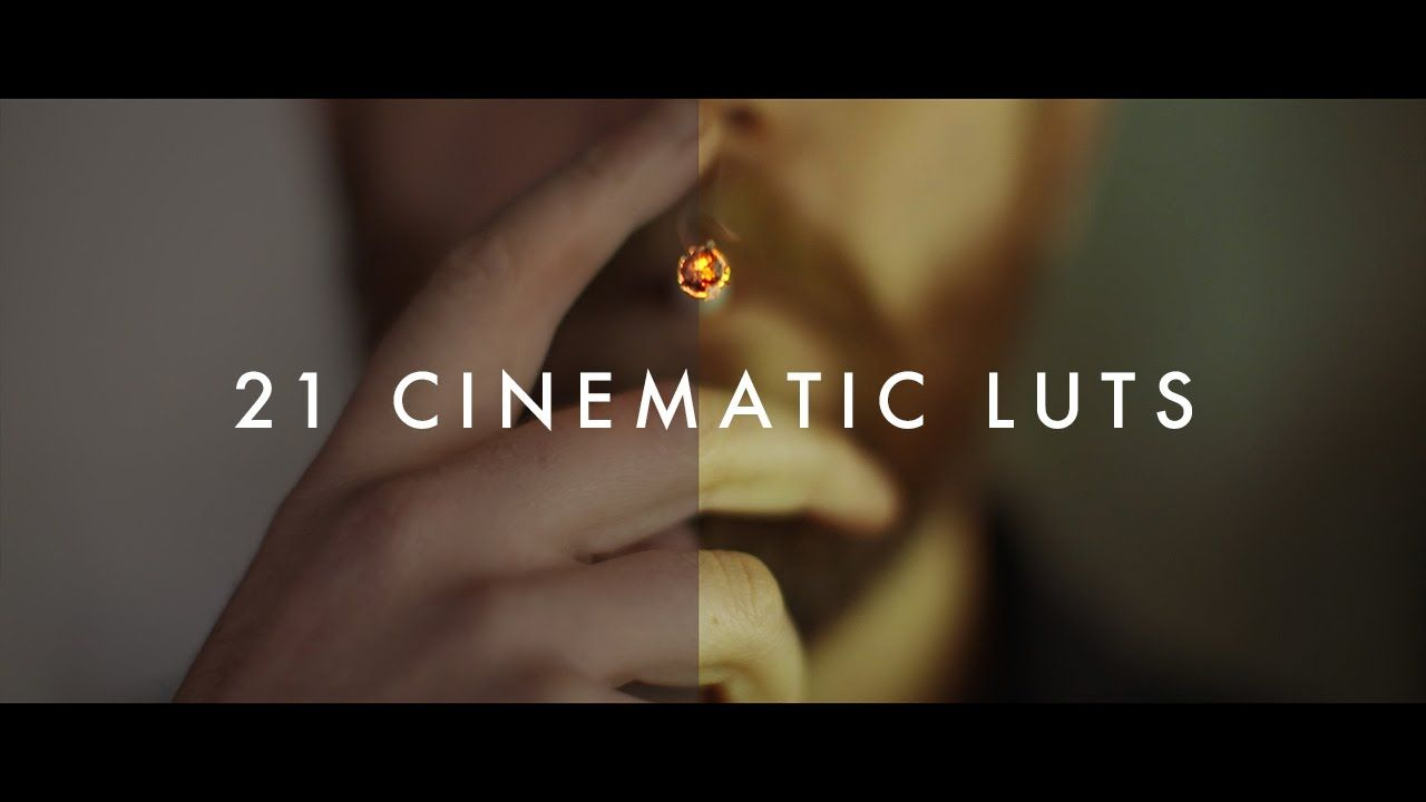 21 Cinematic LUTs Pack by Justin Odisho (Demo Reel + FREE Lut