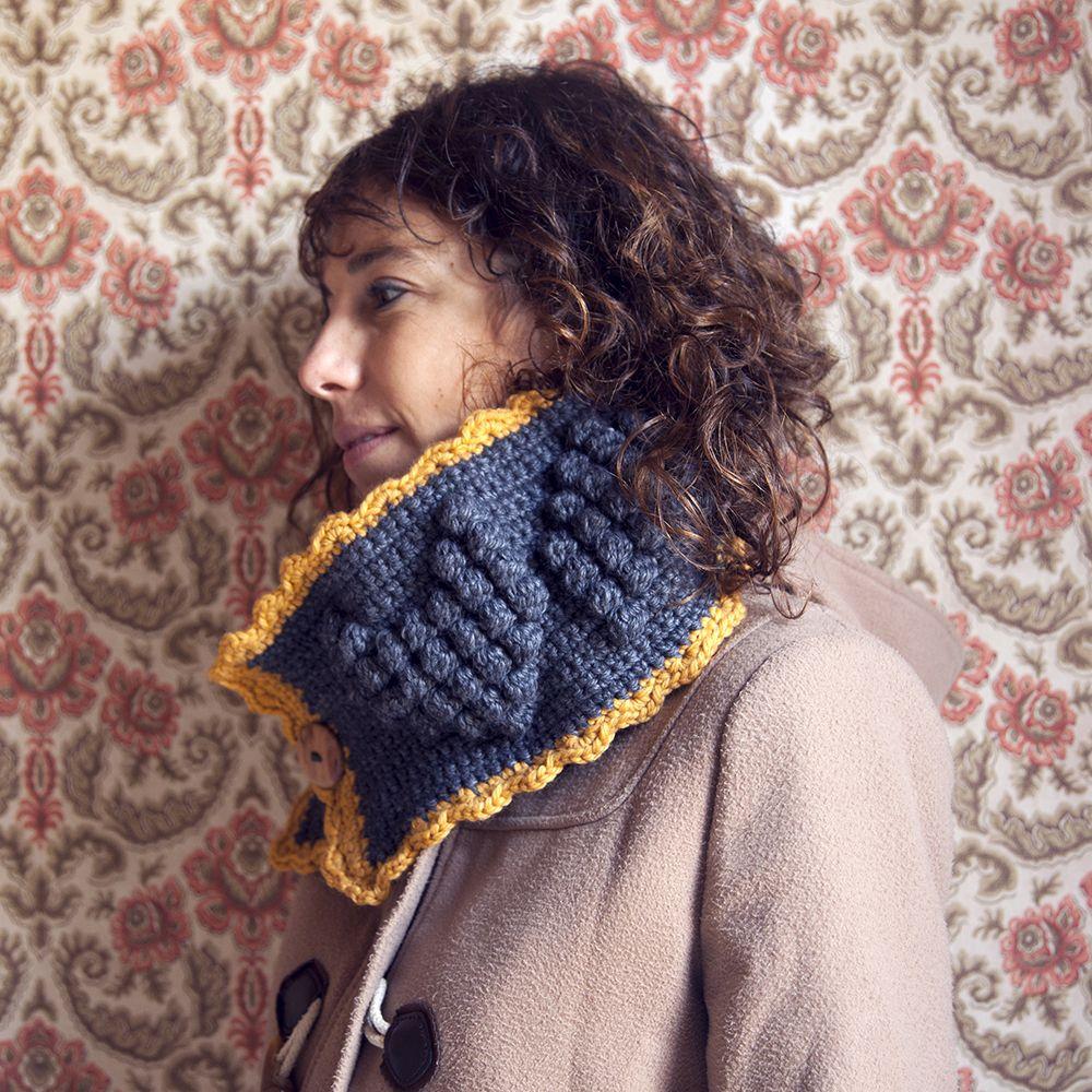 Contemporáneo Patrón Superior Crochet Ilustración - Manta de Tejer ...