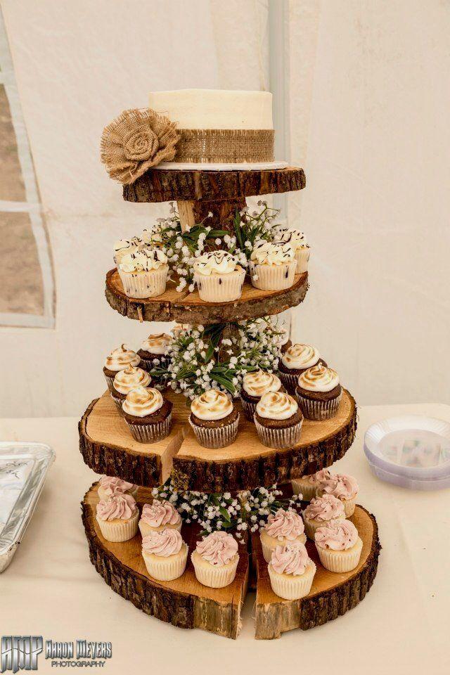 Rustic Wedding Cakes Wedding Diy Cupcake Stand Wedding Cupcake
