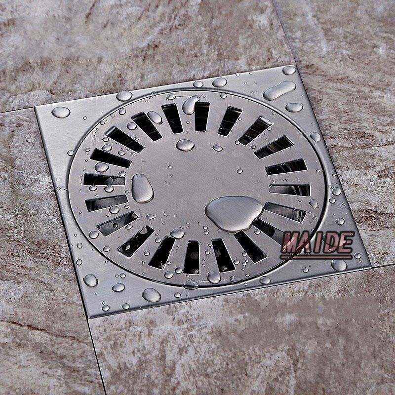 150 150mm Floor Drain 304 Grade Stainless Steel Waste Floor Drain