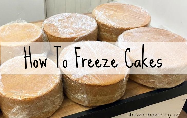 Can You Make Cakes In Advance And Freeze T