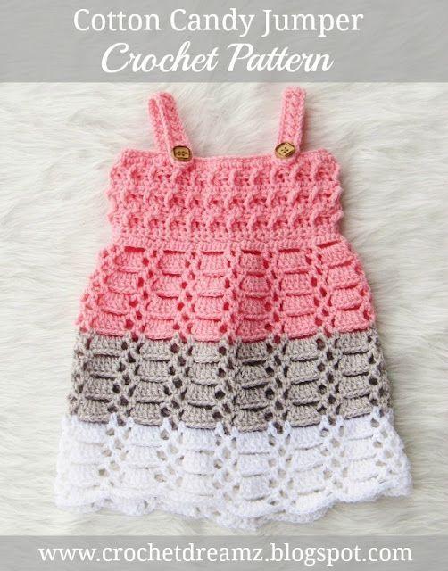 Resultado de imagen para baby crochet patterns | vestidos de Niña ...