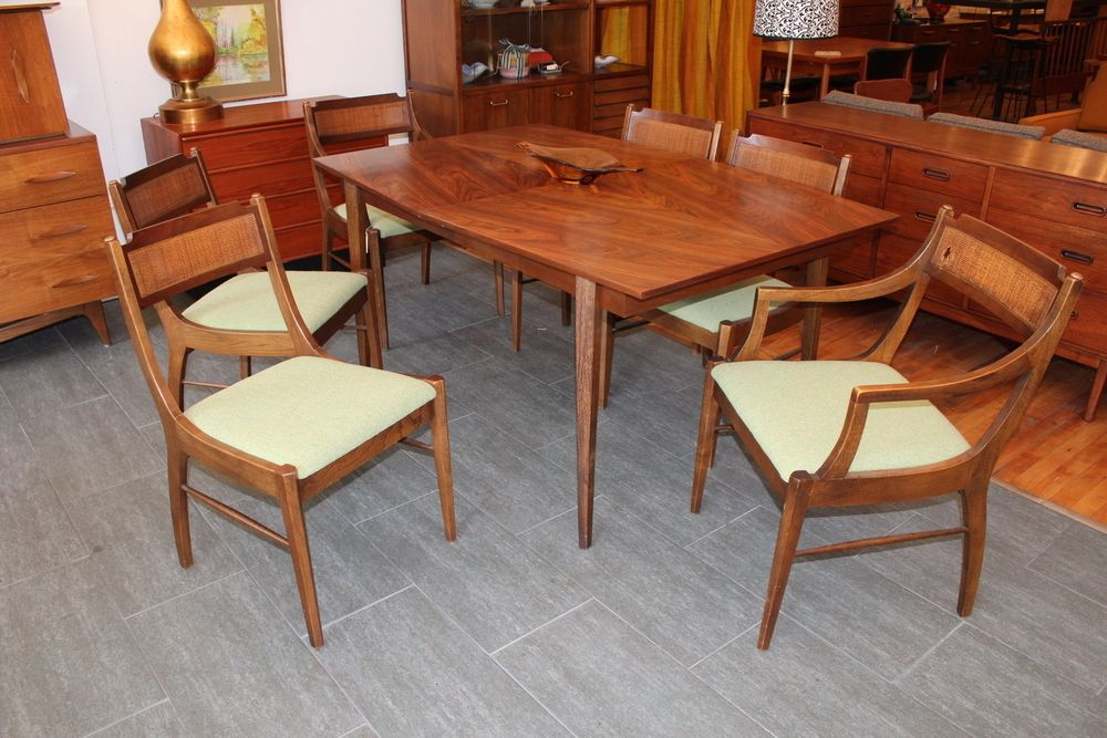 Charmant Image Of American Of Martinsville Dining Room Table U0026 Chairs