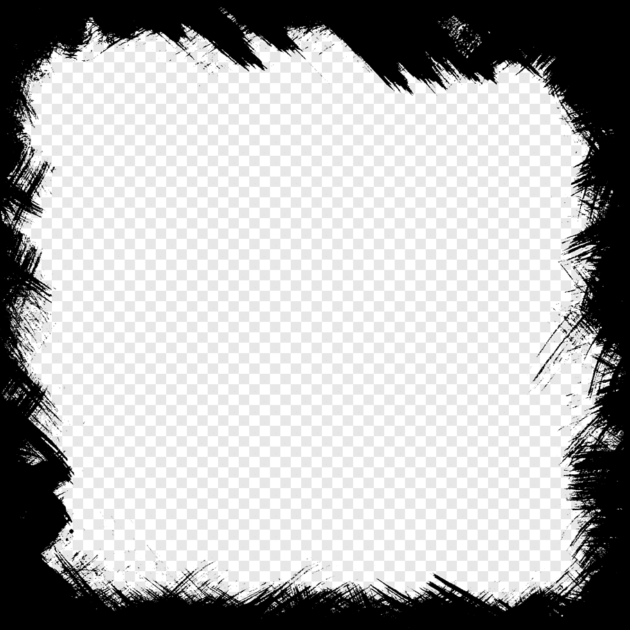 Square Black Frame Illustration Frame Square Frame Free Png Photo Collage Template Black Frame Black And White Lines