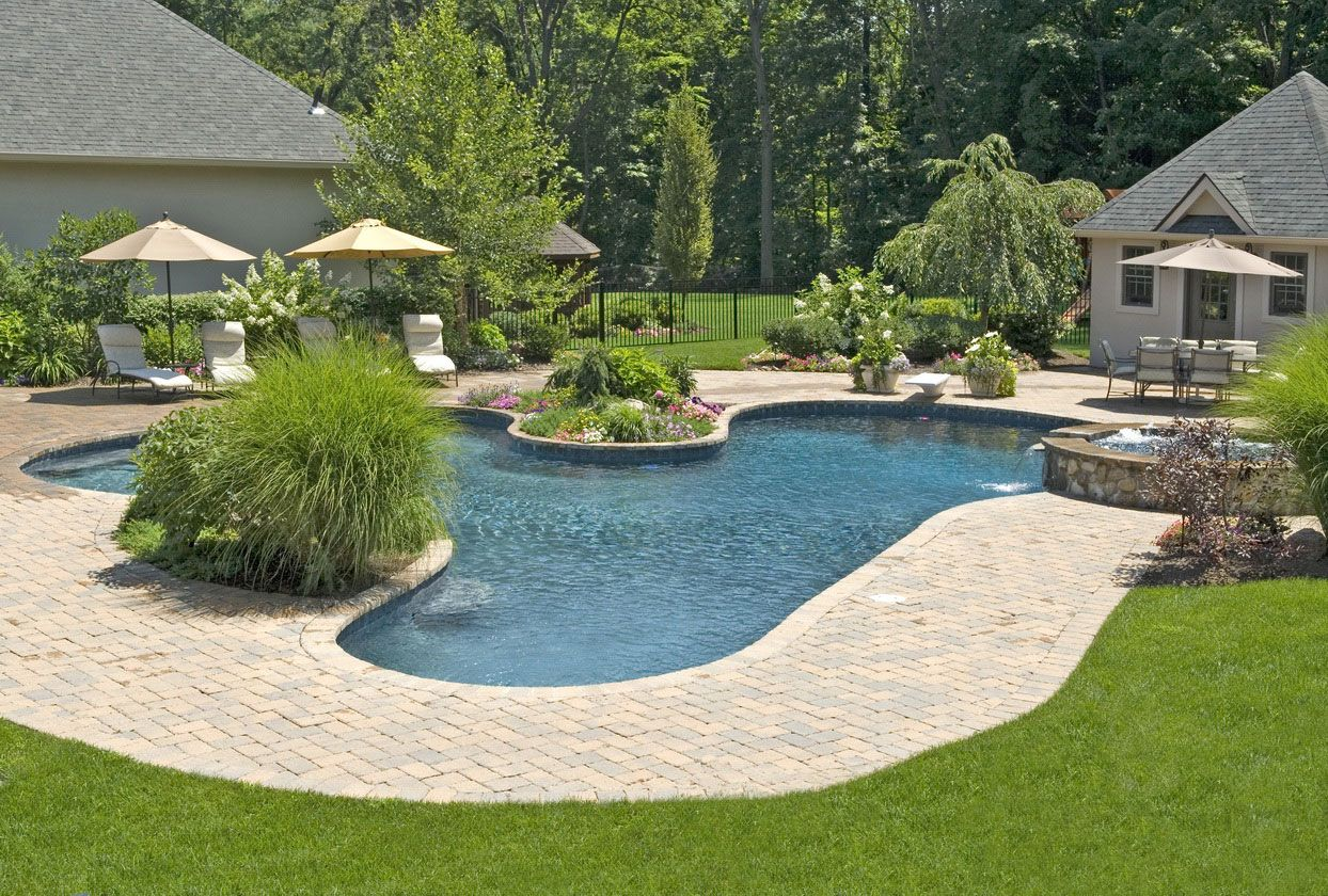 50 modern garden design ideas to try in 2017 - Garden Ideas Around Swimming Pools