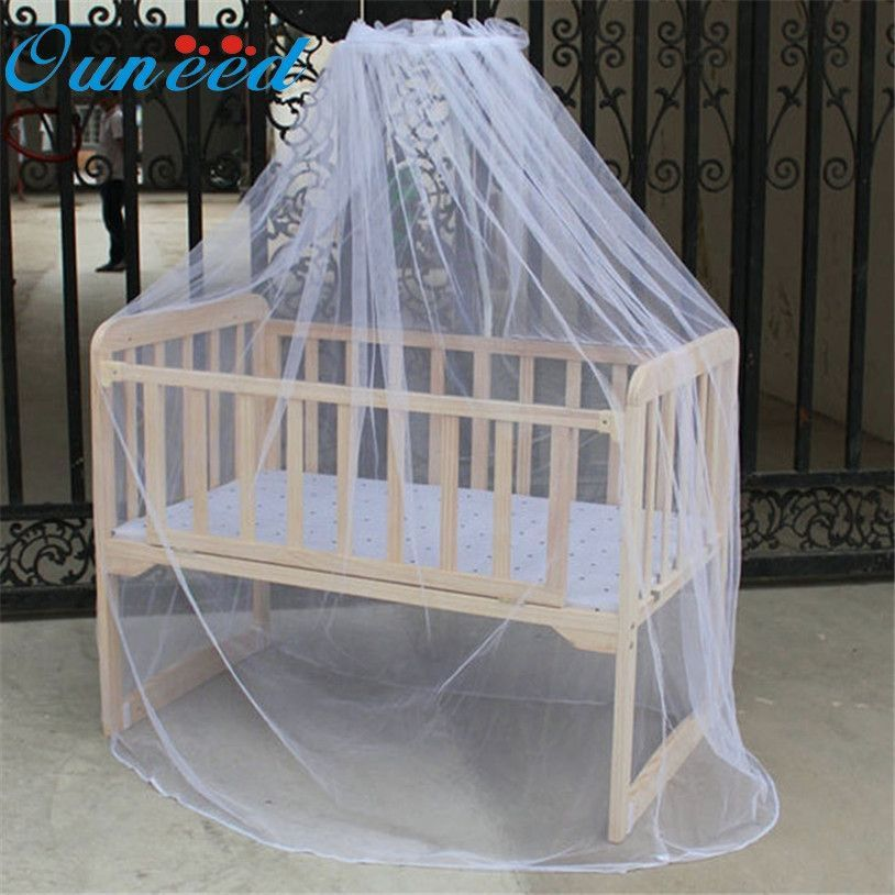 New Summer Baby Bed Mosquito Mesh Dome Curtain Net for Toddler Crib Cot Canopy