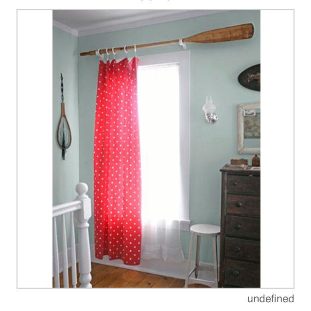 Oar Curtain Rod Nautical Nursery Inspiration Nautical