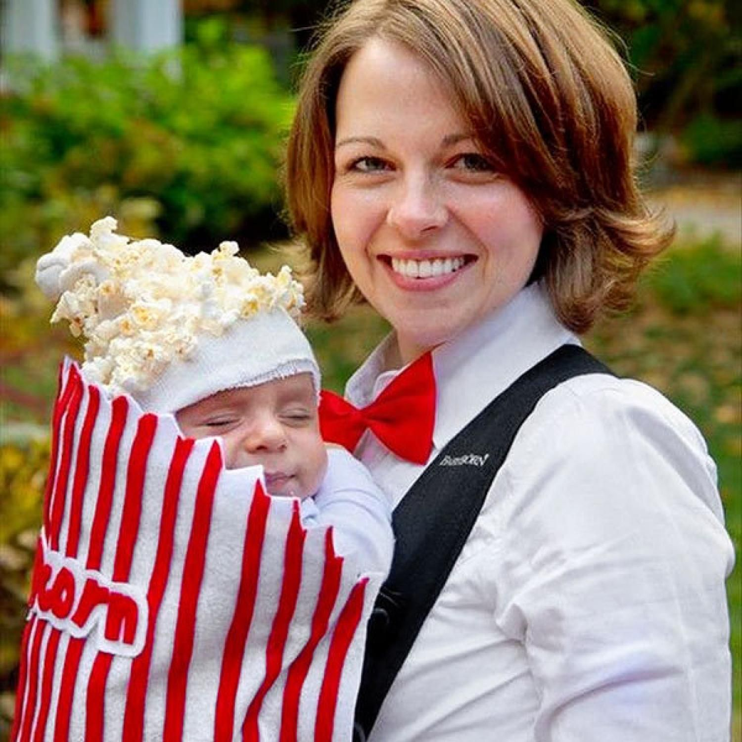Oh, Baby! Hilarious Homemade Halloween Costumes for Babies | Ghost ...