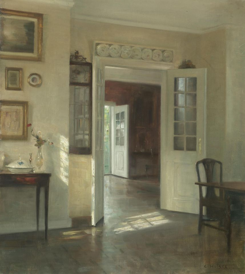 Carl Vilhelm Holsoe (Danish, 1863-1935)