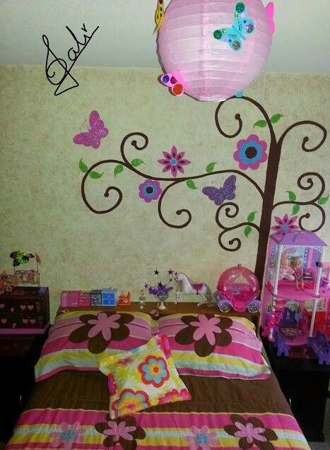 Cuarto para ni as fiestas cuarto ni a dormitorios ni os y decoraci n femenina Decoracion paredes habitacion nina