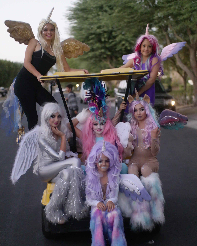 tween halloween costumes | Unicorn Halloween costumes | Pinterest ...