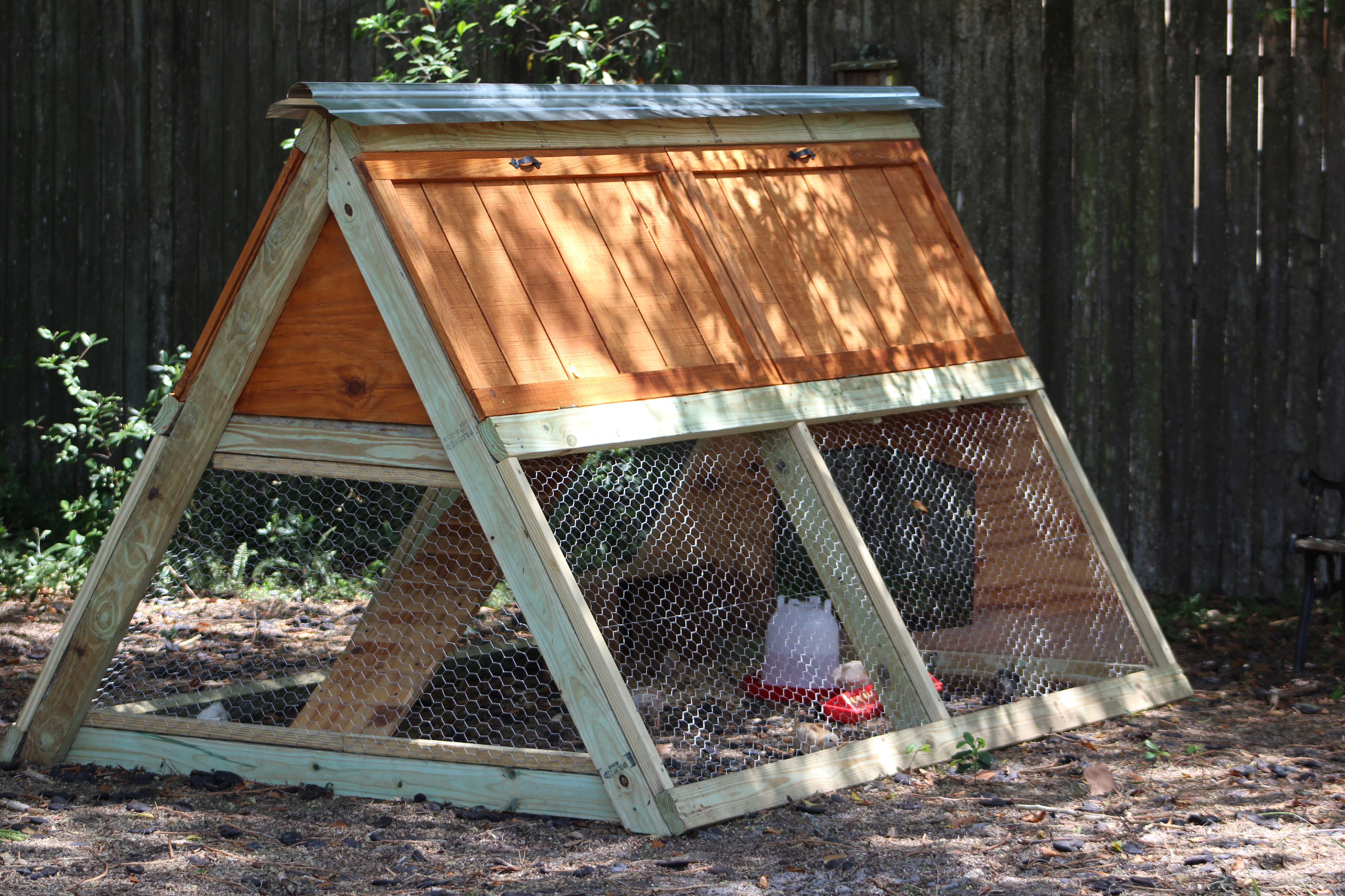 Ana White A Frame Chicken Coop Diy Projects A Frame Chicken