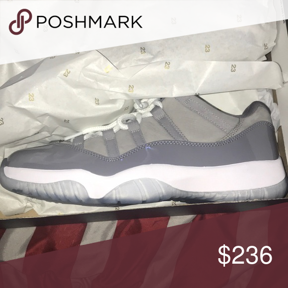 Cool grey 11s size 10 Send through pay pal or western