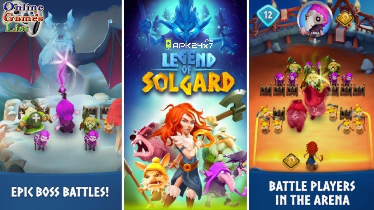 Legend of Solgard v0.9.4 Mod APK Games, Norse legend