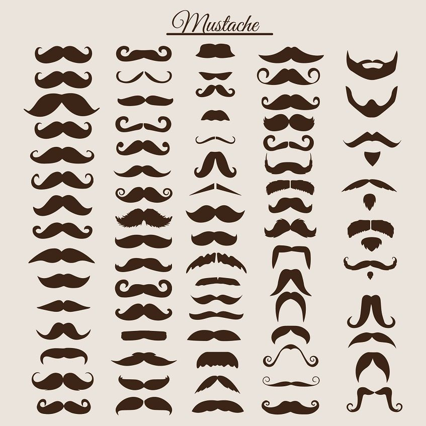 How To Trim A Mustache Fast And Easy With Images Mustache
