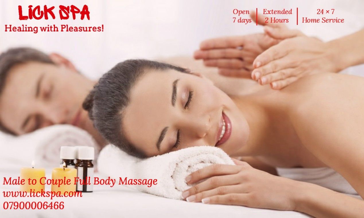 LICK SPA offer 3-4hrs erotic massage for all age couples in Mumbai. Best